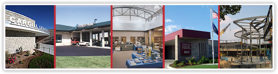 Sauerwein Construction projects: office, religious, educational, retail, non-profit